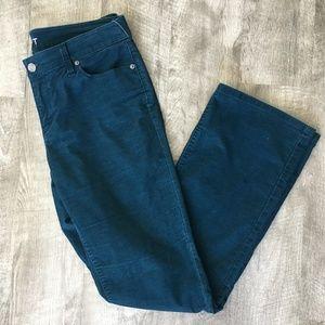 LOFT by Ann Taylor Curvy Boot Corduroy Pants